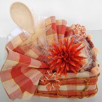 Veratex Textilní kuchyňský košíček z utěrek