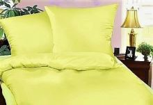 Krepové povlečení  70x90-140x200 cm (sv.žlutá)