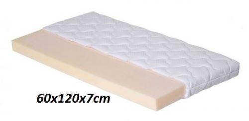 Matrace Baby 60x120/7cm Petra (dodání matrace 13 až 17 dní)