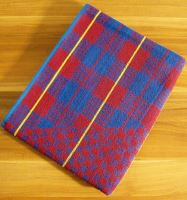 Froté ručník 50x90 cm (červená kostička)