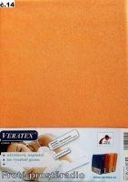 Froté prostěradlo na masážní lůžko 60x190 lehátko (č.14 broskvová)