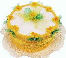 Veratex Textilní dort 1-F jednopatrový
