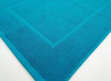 Froté předložka - Hotel 50x70cm 750g azurově modrá