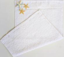 Dětský froté ručník 30x50cm bílý