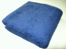 Froté ručník se znamením - býk 50x100 (12-tm.modrá)
