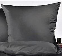 Povlak na polštářek krep 35x45cm-zip (černé)