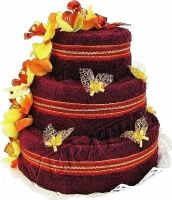 Veratex Textilní dort třípatrový