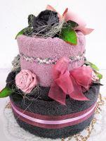 Veratex Textilní dort dvoupatrový SKLADEM POSLEDNÍ 1KS