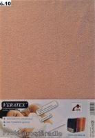 Froté prostěradlo 100x200/16 cm (č.10-starorůžová)