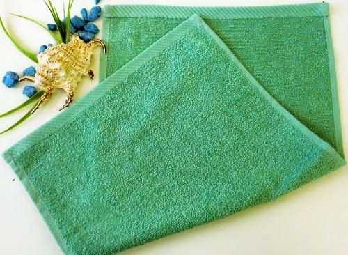 Dětský froté ručník 30x50 cm olivový