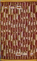 Dětský froté ručník 30x50 cm hnědý žíhaný