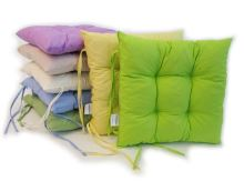 Sedák prošívaný  40x40 cm (fialový)