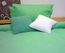 Přehoz na postel bavlna140x200 zelený