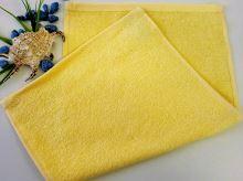 Dětský froté ručník 30x50 cm světle žlutý