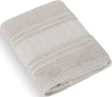 Froté ručník Mozaika 50x100 cm béžová