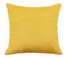 Polštářek Mazlík Korall 38x38 cm (žlutá)