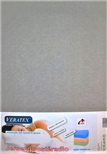 Jersey prostěradlo na masážní lůžko 60x190 cm (č. 4-šedá)