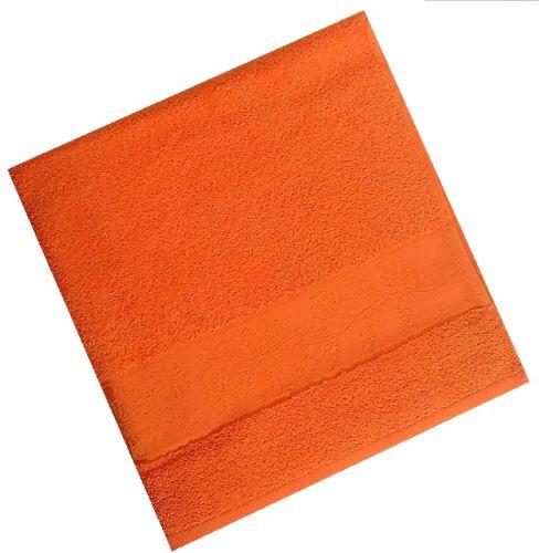 Froté osuška 450g 70x140 cm ( 8-oranžová)