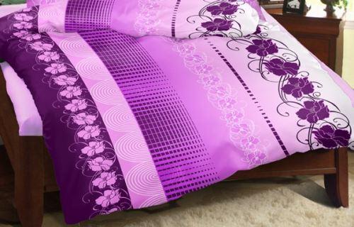 Přehoz na postel KREP 240x200 cm (vyberte dezén z nabídky Krepové povlečení)