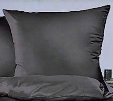 Bavlněný povlak na polštář 70x90cm černá