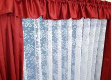 Záclona kusová - Olga 140x300 cm (bílá)