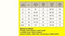 Pánské pyžamo 3522 černá-stř.modrá (XXL)