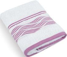 Froté ručník Vlnky 480g 50x100 cm (bílá)