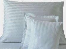 Náhradní povlak na polštář - proužek bílý 0,8 mm 70x90 HOTELOVÝ uzávěr