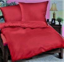 Přehoz na postel BAVLNA 240x200 cm cihlovo-červený