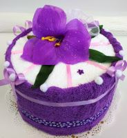 Veratex Textilní dort  jednopatrový