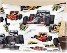 Bavlněný povlak na polštářek Formule 40x40cm R0622