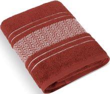 Froté ručník Mozaika 50x100 cm tm.terra