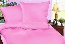 Krepové povlečení francie  2x70x90 + 220x200 (růžové)