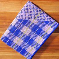 Froté ručník 50x90 cm (fialová kostička)