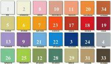 Látka Froté pletenina 210g 28 barev