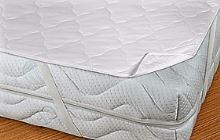 Matracový chránič 240x200 (bílý prošívaný)
