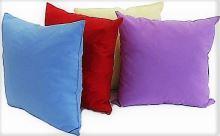 Jednobarevné dekorační polštářky 40x40cm 100% bavlna
