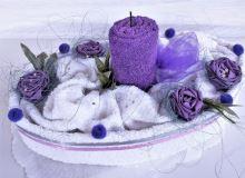 Veratex Textilní dort svícen