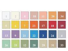 Jersey prostěradlo atyp malý do 85 x 180 cm (č.23-oranžová)