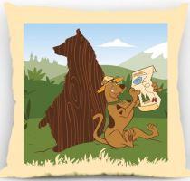 Polštářek Scooby-doo Rangers 40x40 cm