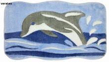 Koupelnová předložka 105 delfín 60x100 cm (105)