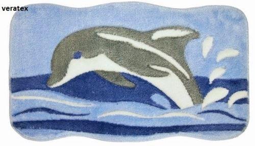 Koupelnová předložka LUX delfín 60x100 cm