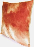 Polštářek froté  rezavá batika  40x40