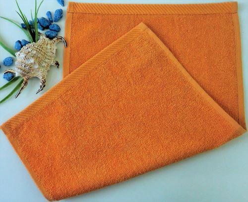 Dětský froté ručník 30x50 cm rezavý