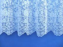 Záclona Věnce výška 40 cm (bílá)