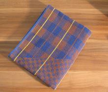 Froté ručník 50x90 cm (hnědá kostička)