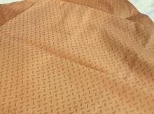 Damaškový povlak okrový 70x90cm zip SKLADEM POSLEDNÍ 2KS