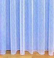 Záclona kusová - Déšť 120x300 cm (bílá)