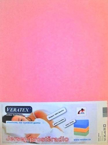 Jersey prostěradlo na masážní lůžko 60x190 cm (č. 8-růžová)