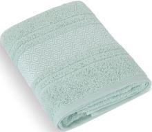 Froté ručník Mozaika 50x100 cm mint